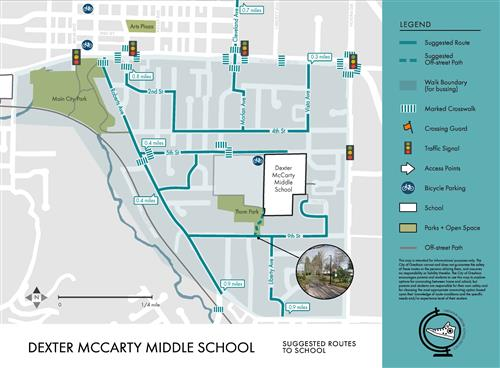 McCarty walk routes